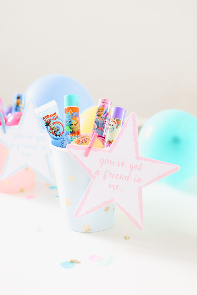 Toy Story 4 Spa Party Favor Ideas