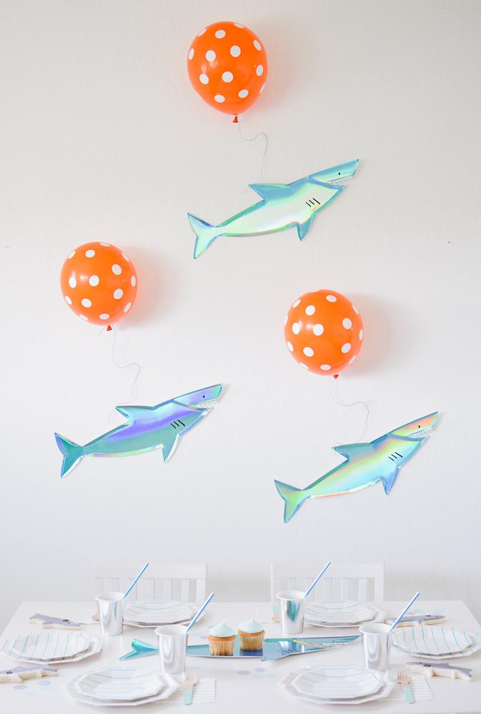 Let the Fin begin: Throw a Shark Themed Party