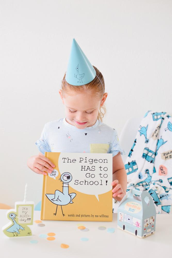 Happy Bird-day, Pigeon!