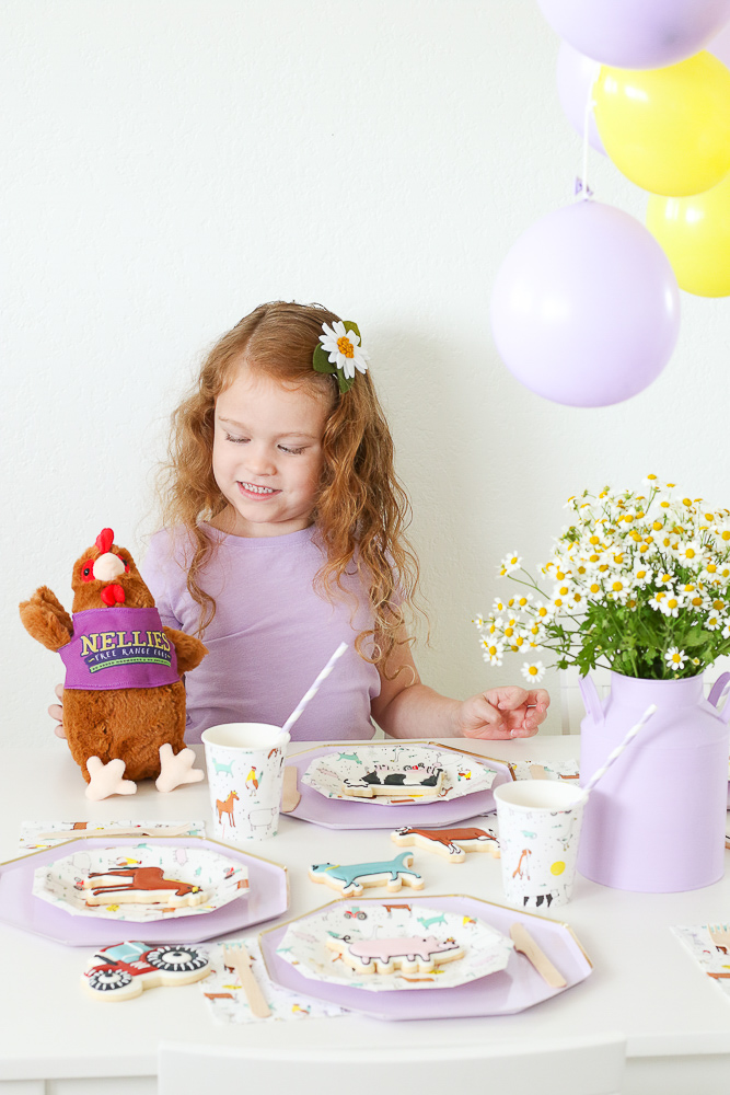 Throw a Modern Farm Themed Party With Nellie's Free Range Eggs