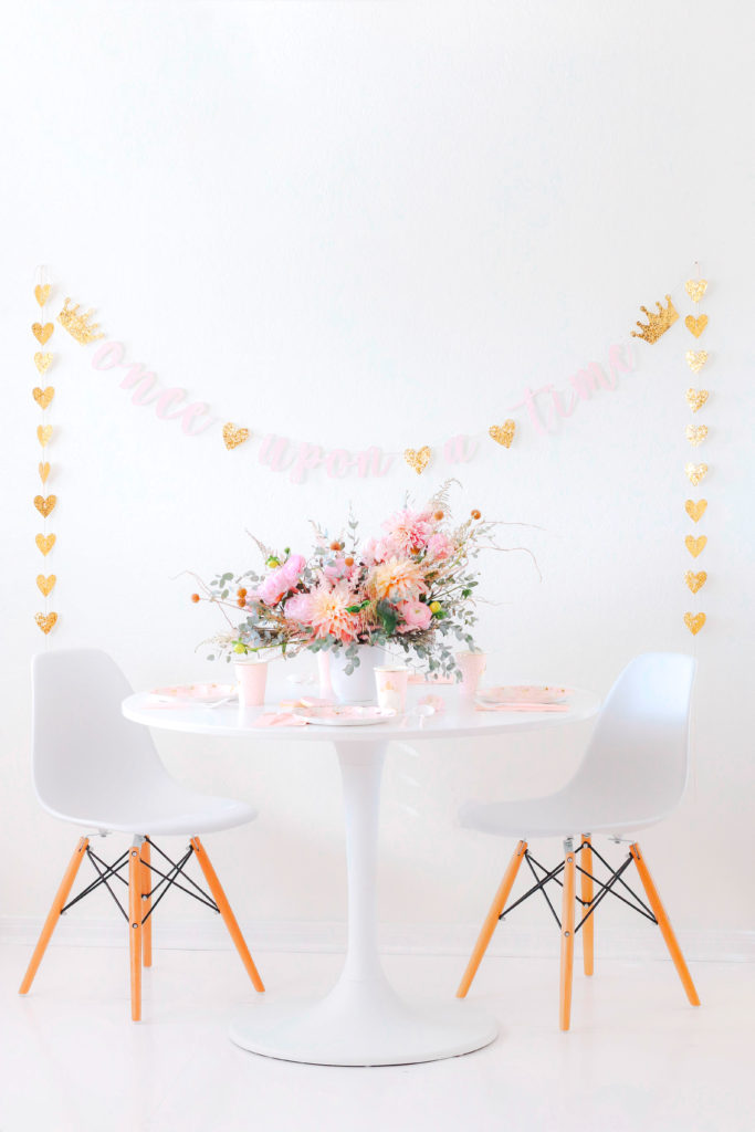 A Modern Princess Inspired Tablescape