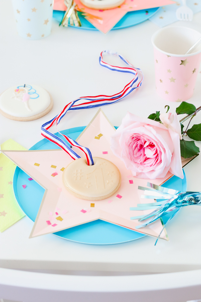 A Fun Gymnastics Themed Birthday Party