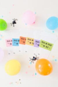 DIY Halloween Coffee Cup Gift Card Holder