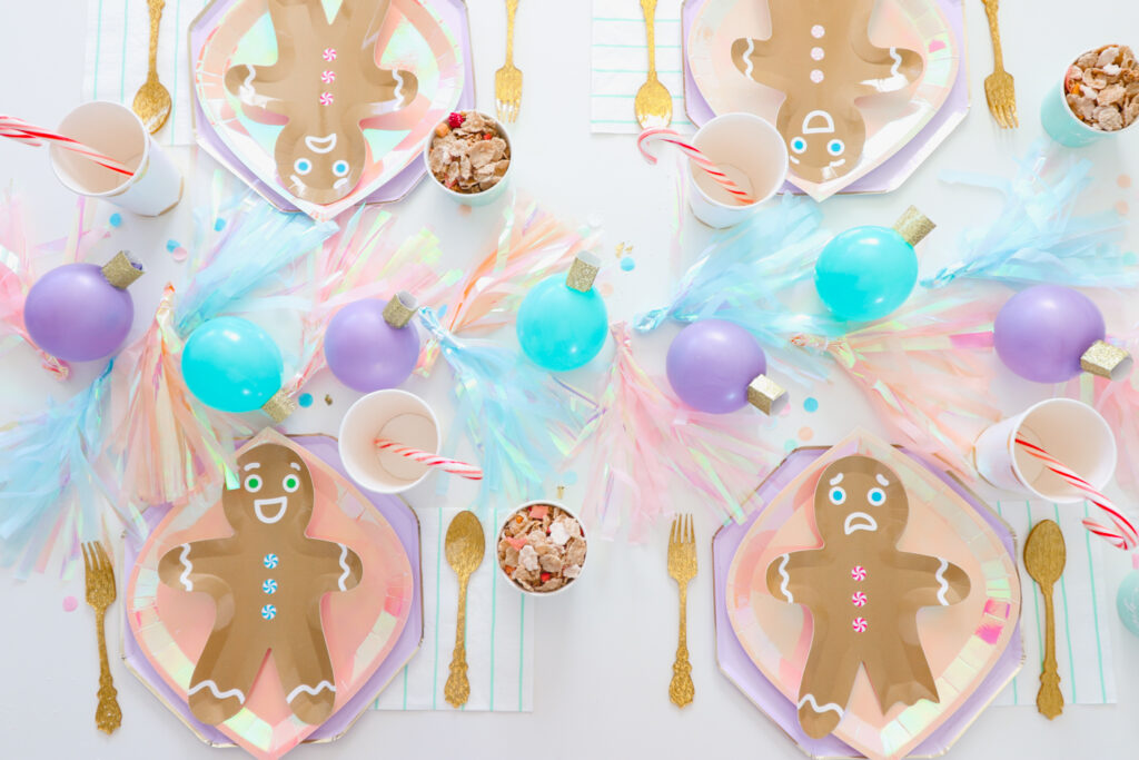 Host a Gingerbread Themed Holiday Breakfast for the Kids