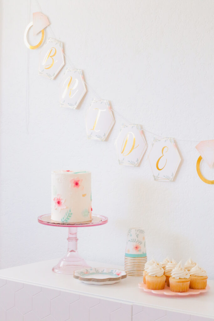 A Casual Spring Bridal Shower Inspiration