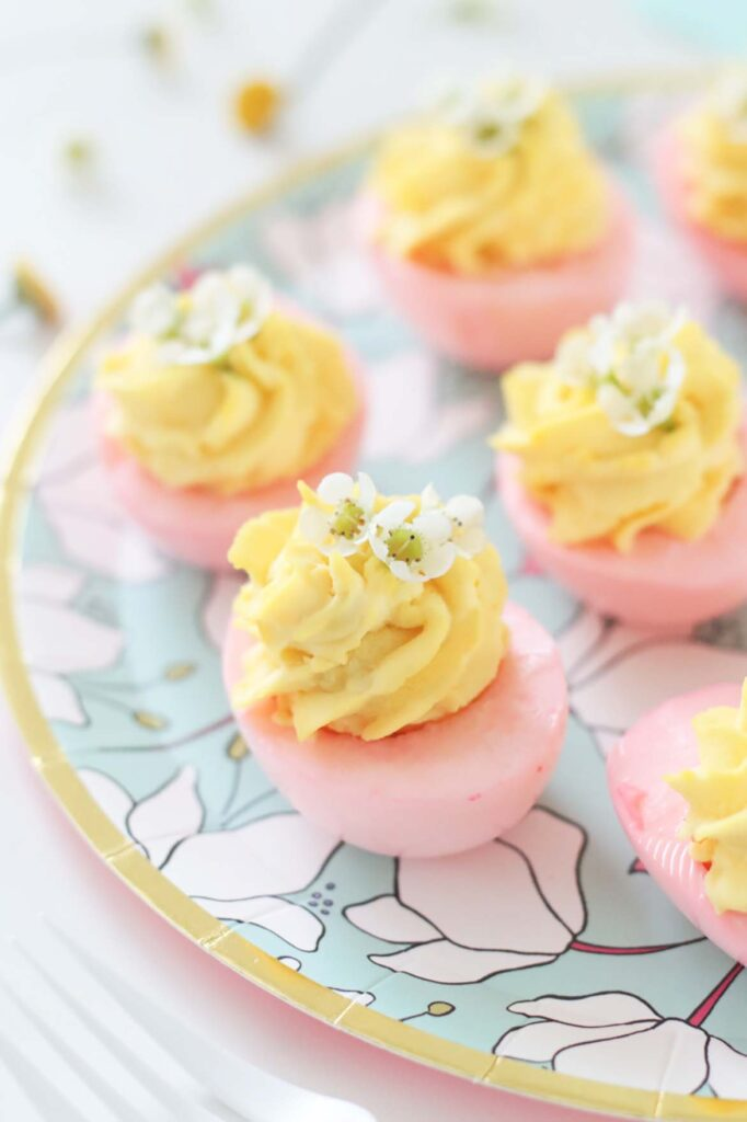 The Perfect Deviled Eggs for a Spring Brunch