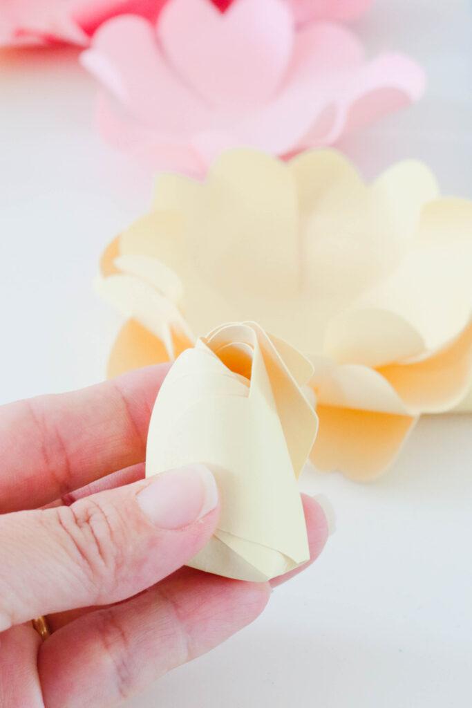 DIY Paper Flower Garland