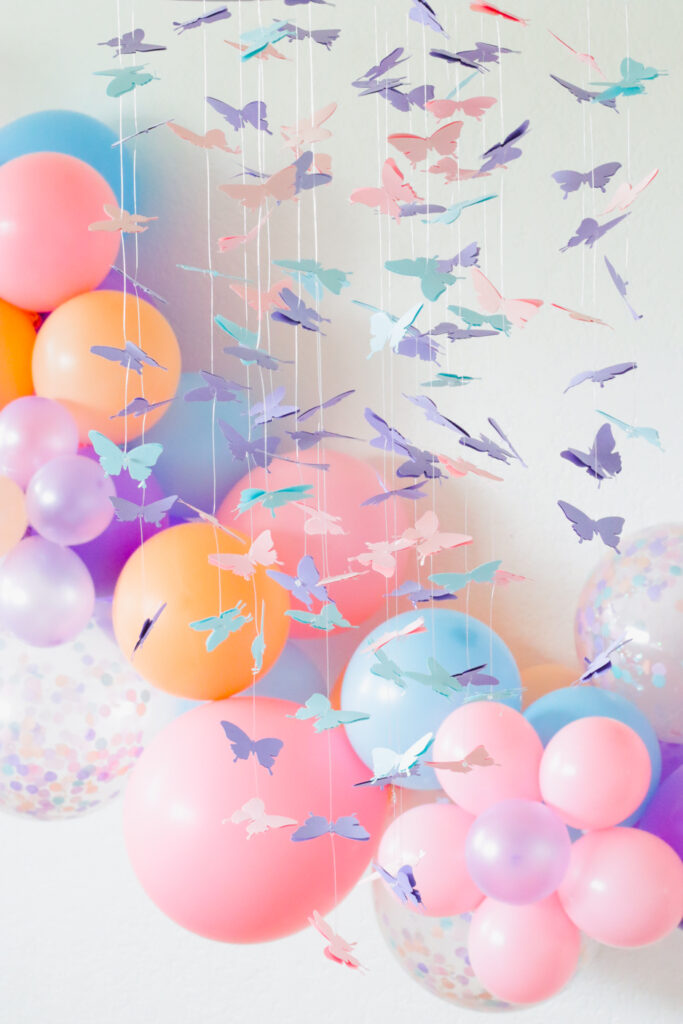 Throw a Virtual Butterfly Party