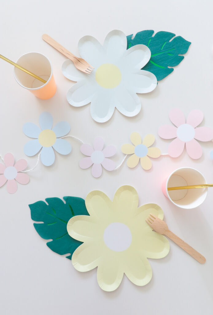 DIY Flower Garland
