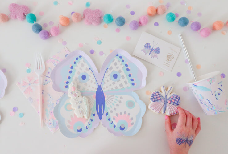 How to throw a Virtual Butterfly Party