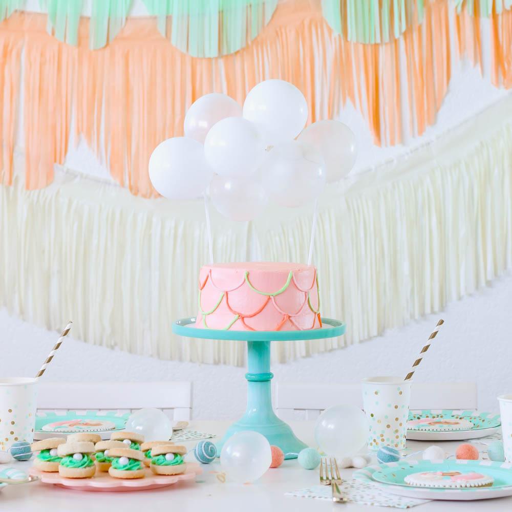Throw a Fun Mermaid Birthday Party