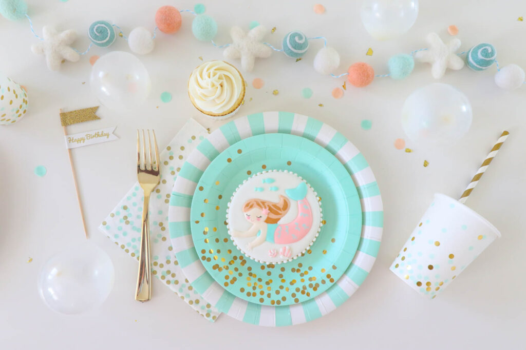 The Cutest Mermaid Birthday Party