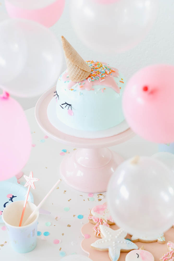 Party-in-place: Narwhal Themed Party