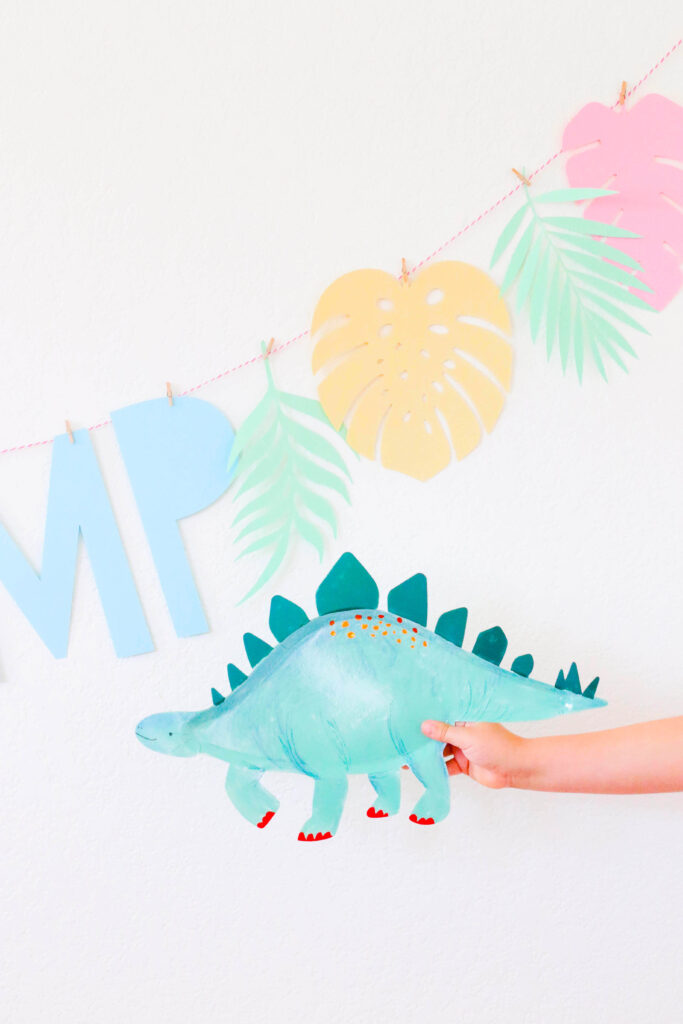 Celebrate At Home: Pastel Dinosaur Party Ideas