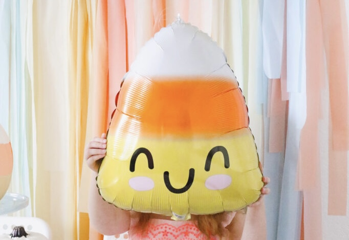 A Pastel Candy Corn Party
