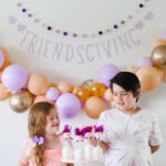 Kids Friendsgiving Party: Caramel Pear Hand Pies and Turkey Craft