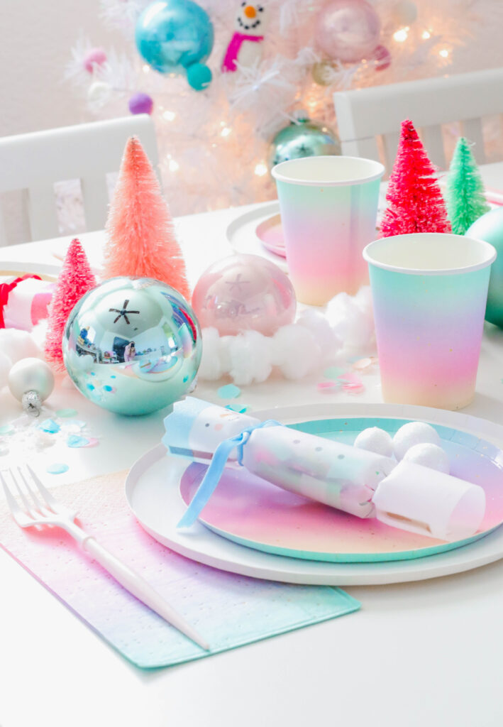 Plan a Rainbow Snowman Holiday Party For The Kids