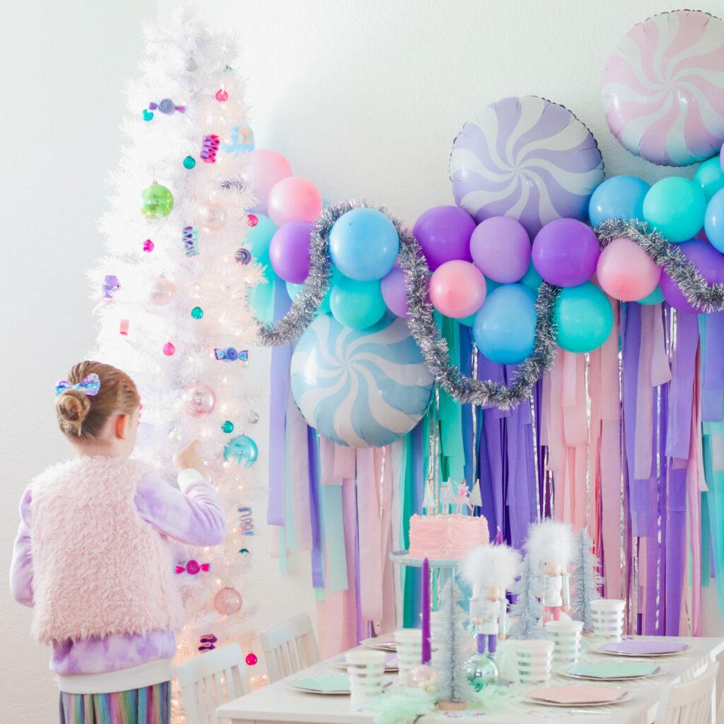 A Whimsical Sugar Plum Fairy Nutcracker Holiday Party