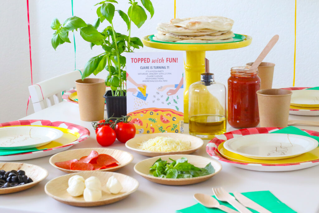 Topped with Fun – Throw a Fun Pizza Party