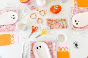 Host a Bracelet Making Halloween Party